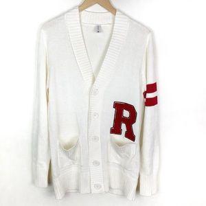 Hip Hop 50's Shop Men's Letterman Style Sweater L